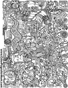 nirvana coloring pages   Kurt Cobain of Nirvana 90s coloring page for adults ...