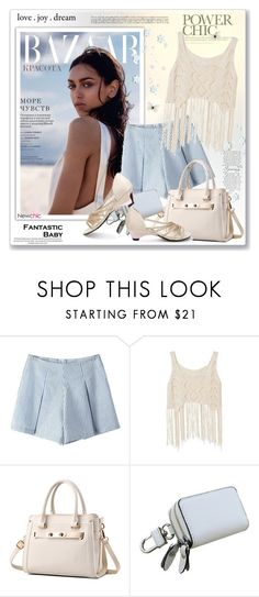 """NewChic44"" by sneky ❤ liked on Polyvore"