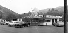 Old photo of Penny's Drive-In in Logan, WV