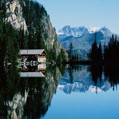Hike to charming backcountry Lake Agnes Tea House. Enjoy fine teas, fresh baking and light fare made from scratch.