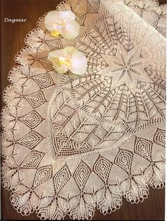 Items similar to Knitting Pattern Ebook Knitted Lace in white - Doilies 140 on Etsy Lace Knitting Patterns, Lace Patterns, Knitting Stitches, Free Knitting, Lace Doilies, Crochet Doilies, Crochet Flowers, Framed Doilies, Crochet Table Mat
