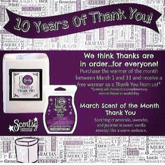 this is the 10th anniversary warmer for Scentsy it is also a Buy One Get One free. if you buy this warmer you will get one of their choice free. go to www.egurecki.scentsy.us