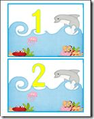 Ocean Counting Mats- change to addition or teen numbers School Themes, Classroom Themes, School Ideas, Ocean Activities, Preschool Activities, Letter O Crafts, Ocean Unit, Future School, Class Decoration