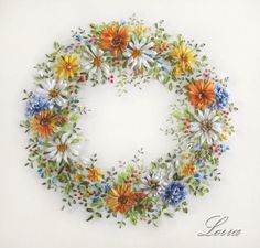 Ribbon Embroidery - Lorra Korovin Artist -