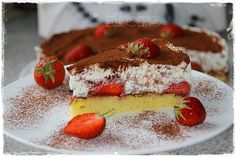 Erdbeer Schoko Split Torte