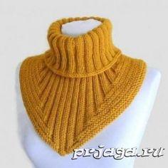 Knitting of a shirtfront spokes