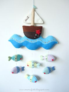 Nautical mobile - pattern available at imanufatti.etsy.com