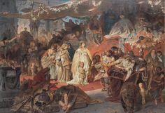 DOMIZIANO ARCANGELI • master-painters: Karl Theodor von Piloty...