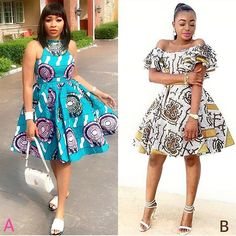 42 Stunning or Appealing Ankara Dresses For Young Ladies With Swag. Check out these Ankara styles for ladies below. Ankara fashion or dresses are becoming African Wear Dresses, Latest African Fashion Dresses, African Print Fashion, Africa Fashion, African Attire, Women's Fashion Dresses, Fashion Prints, African Clothes, Ankara Fashion