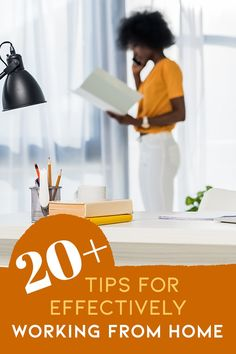 Whether you are a blogger, freelancer, entrepreneur, remote worker, or someone who is suddenly forced to work from home, working from home can present some interesting challenges. But that does not mean that you can't be productive! Here are 21 tips for working from home to help you achieve maximum productivity! #tipsforworkingfromhome #workfromhome #bloggertips #freelancertips #remotework #beproductiveathome