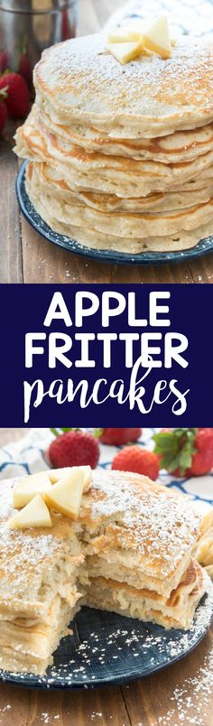 Apple Fritter Pancak