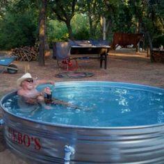 DIY 1000 gal Intex SWG pool chem newbee Natural