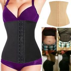 68bc8426b369e  1 Best Underbust Waist Trainer Cincher Corset Girdle Workout Belt Shaper  Top