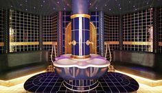 Richmond Nua Wellness Spa: The spa references Turkish healing traditions with its grand Ottoman steam bath.
