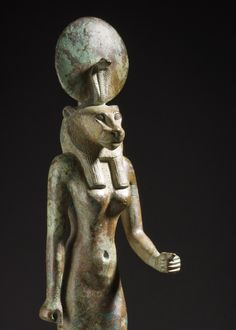 Wadjet, The green or fresh one, William Randolph Hearst Collection, LACMA, 664-525 B.C.E