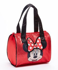 Another great find on #zulily! Minnie Mouse Sequin Satchel by Minnie Mouse #zulilyfinds