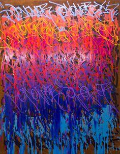 #JonOne graffiti-artiste franco-américain