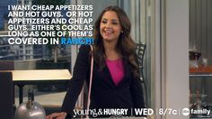 """S1 Ep5 """"Young & Younger"""" - We're totally like Sofia! #YoungandHungry"""