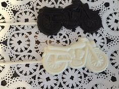 Motorcycle Chocolate Lollipop  Harley Davidson by CandyConfections