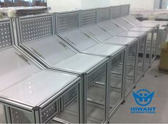 Hiwant industrial aluminium profile for frames of mechanical equipment, quality aluminium profile products for industry.