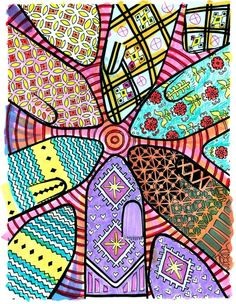 in a coloring book for knitters - Coloring Book Yarns
