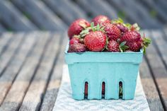 How about a DIY Strawberries and Cream Body Exfoliator? This recipe makes enough for two full body scrubs.