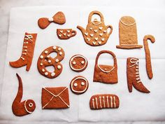 Malin Koort gingerbread cookies.