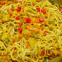 Asianudeln süß-sauer Spaghetti, Healthy Eating, Ethnic Recipes, Food, Meal, Essen, Hoods, Eating Healthy, Eating Well