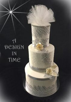 THE DESIGN IN TIME LEGACY - since 1986 ROBIN CACCIACARRO I have been designing wedding and specialty cakes, candy, desserts and flower arrangements for over 30 years. I will work with you to achieve the perfect elements for your special occasion. Gourmet Cakes, Themed Wedding Cakes, Specialty Cakes, Cake Art, Flower Arrangements, Special Occasion, Perfume Bottles, Ice, Candy