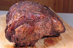 I love smoked prime rib at Christmas time and the smoky flavor along with the extremely robust and beefy flavor have an air of elegance that is hard to beat.