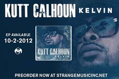 Kutt Calhoun has been hard at work in the lab and is ready to unveil his newest creation – Kelvin! The Kansas City Chief has already given you the hottest in B.L.E.V.E. and now returns with the coldest EP out there. Kutt's EP, Kelvin, will be available on October 2nd! Here's your chance to preorder your copy of Kelvin – featuring stellar production from Seven!  Preorder your copy now at strangemusicinc.net – you'll get a signed copy of the Kelvin EP and a Strange Music Snake and Bat decal.