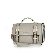 Grey large satchel €40.00