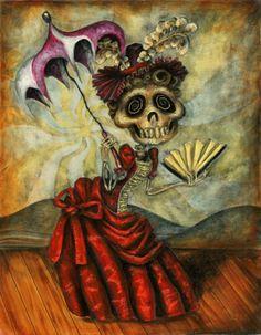 The Art of Brandon Maldonado Dia de Los muerte