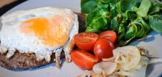 Hamburger Lunch Paleo-fied