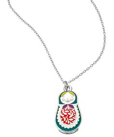 Babushka Necklace, I need to add to my collection. Max And Chloe, Cute Necklace, Pretty Necklaces, Matryoshka Doll, Speed Dating, Jewelery, Jewelry Box, Jewelry Accessories, The Originals