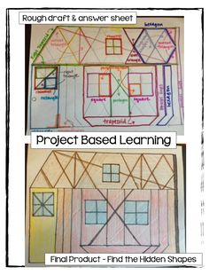 love project based learning!  example of upper elementary geometry!