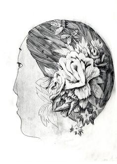 "Wuon Gean Ho,  ""Lucid Flower, A.P."" , 2010,  Vinyl Print,  56 x 38 cm"