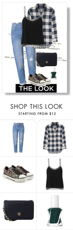 """""""Untitled #52"""" by petzi ❤ liked on Polyvore featuring WithChic, Madewell, Valentino, Etro, Tory Burch and Essie"""