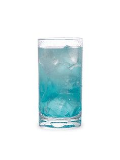 Patriotic Drinks We Love: Badge of Honor  Pucker Lemonade Lust Vodka, lemonade, and DeKuyper Blue Curaçao.