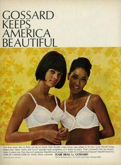 1966 Gossard advertisement