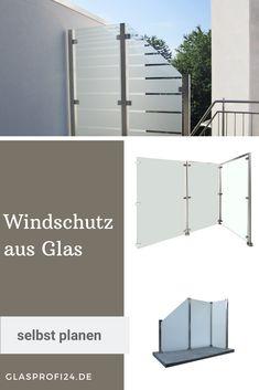 Roof Balcony, Balcony Privacy, Balcony Glass Design, Glas Art, Divider, Floor Plans, Inspiration, Room, Furniture