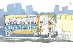 Warum eigentlich kommt keine Stadt auf die Idee, Fahrtkosten für öffentliche Verkehrsmittel – statt nach Entfernung und gefahrenen Stationen – nach der Uhrzeit zu berechnen? So könnten Fahrten zur Rush-Hour viel günstiger angeboten werden, um noch mehr Bürger vom Auto auf den ÖPNV umsteigen zu lassen. Insgesamt liesse sich über Happy-Hours  (oder über Feiertage, Wochenenden, Ferien, etc) ganz sicher einiges mehr tun als mit Apps, Monatskarten, Abonnements usw. zusammen.