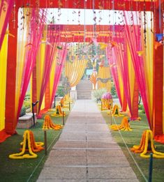 """Indian Wedding Decoration Ideas stage - The center stage becomes the most important area in any marriage. In an Indian wedding, it is called """"Mandap""""."""