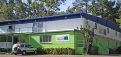 The exterior of The Gap Health and Racquet gym has been repainted with Resene paint. Queensland Australia, Recreational Vehicles, Gap, Health, Camper Van, Health Care, Campers, Healthy, Rv Camping