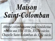 Luxeuil-les-Bains: Spiegazione della casa di San Colombano ( © JE ) - France-Voyage.com