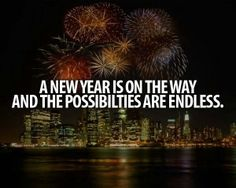 a new year is on the way