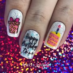 Easter nails are the cutest ones among the rest of the spring ideas. There are so many different designs that are popular for Easter Sunday. We have covered the best nail art in this article for your inspiration! Birthday Nail Art, Birthday Nail Designs, Easter Nail Designs, Nail Art Designs Videos, Nail Designs Pictures, Nail Art Videos, Kid Nail Designs, Cute Summer Nail Designs, Funky Nails