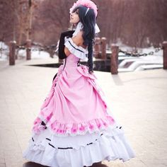 Black Butler : lady Ciel cosplay