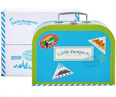 www.LittlePassports.com  Great Gift Experiences for kids of all ages! It's a subscription service that takes your kids around the world through a monthly package mailed to your home! world-subscription-kit