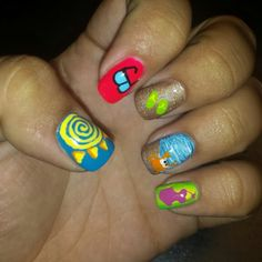 my nails are beach ready!! next saturday can't come soon enough! #beachnails